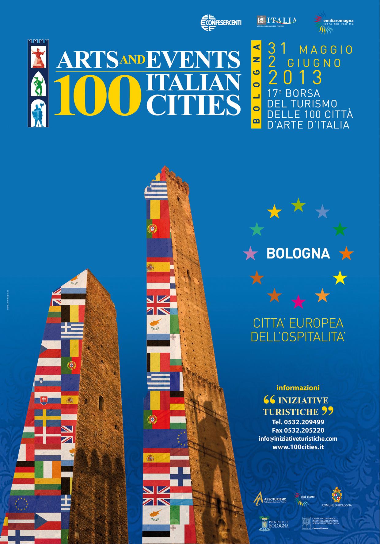 A Bologna la Borsa delle 100 città d'arte d'Italia