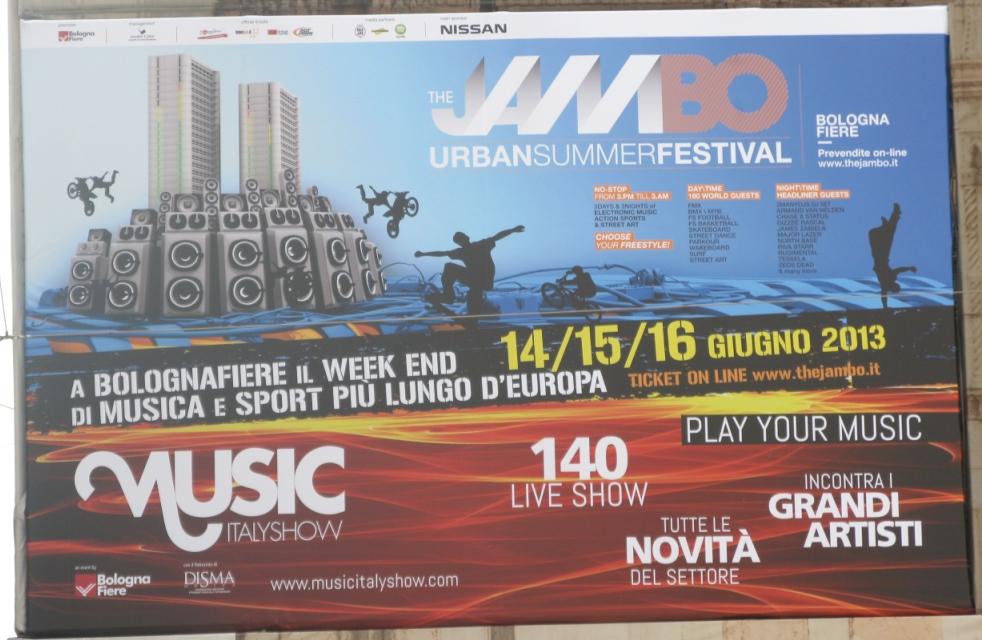 The JamBO, Urban Summer Festival