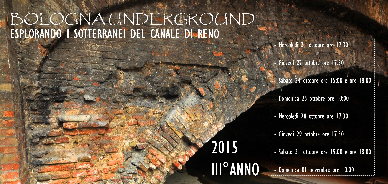 Bologna underground: alla scoperta dei sotterranei del canale di Reno 1
