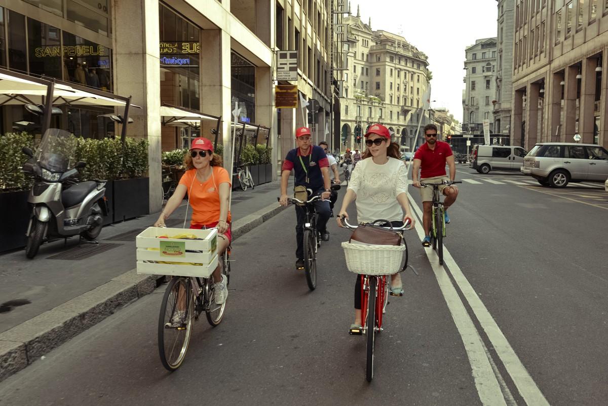 Il tour in bicicletta a sostegno delle eccellenze del Made in Italy