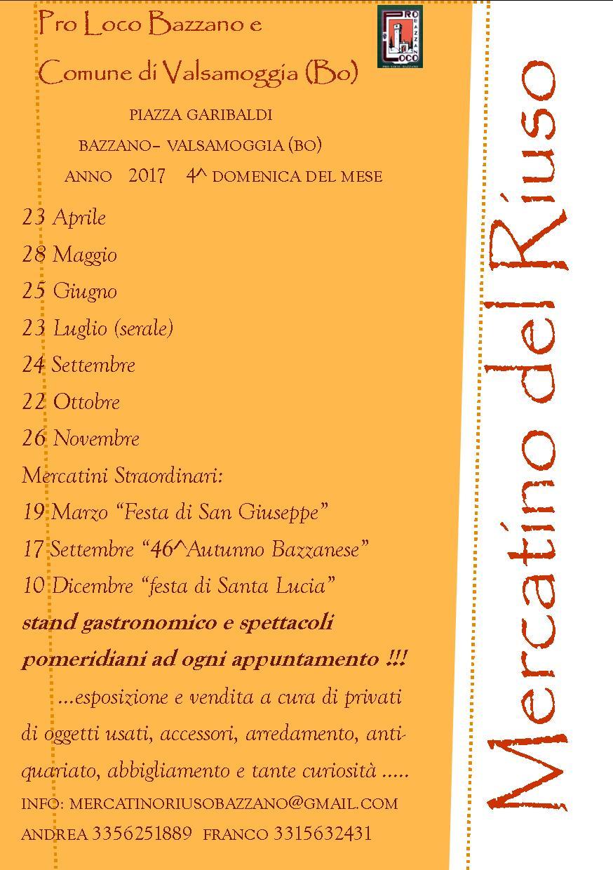 Mercatino del Riuso - Bazzano Valsamoggia