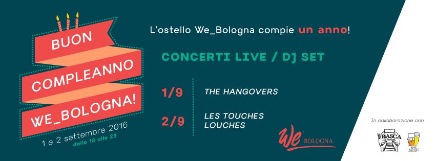 Buon compleanno We_Bologna!