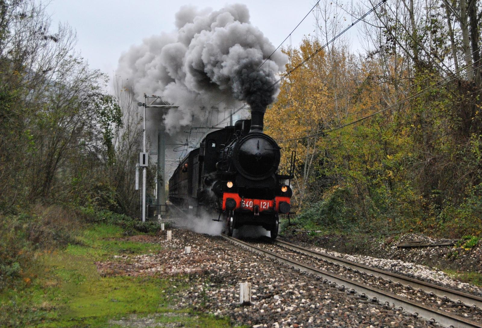 Treno a Vapore 2