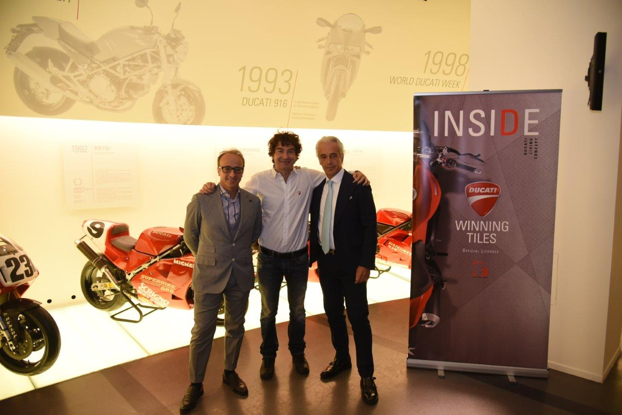 Ducati firma ceramiche di GS Luxury Group