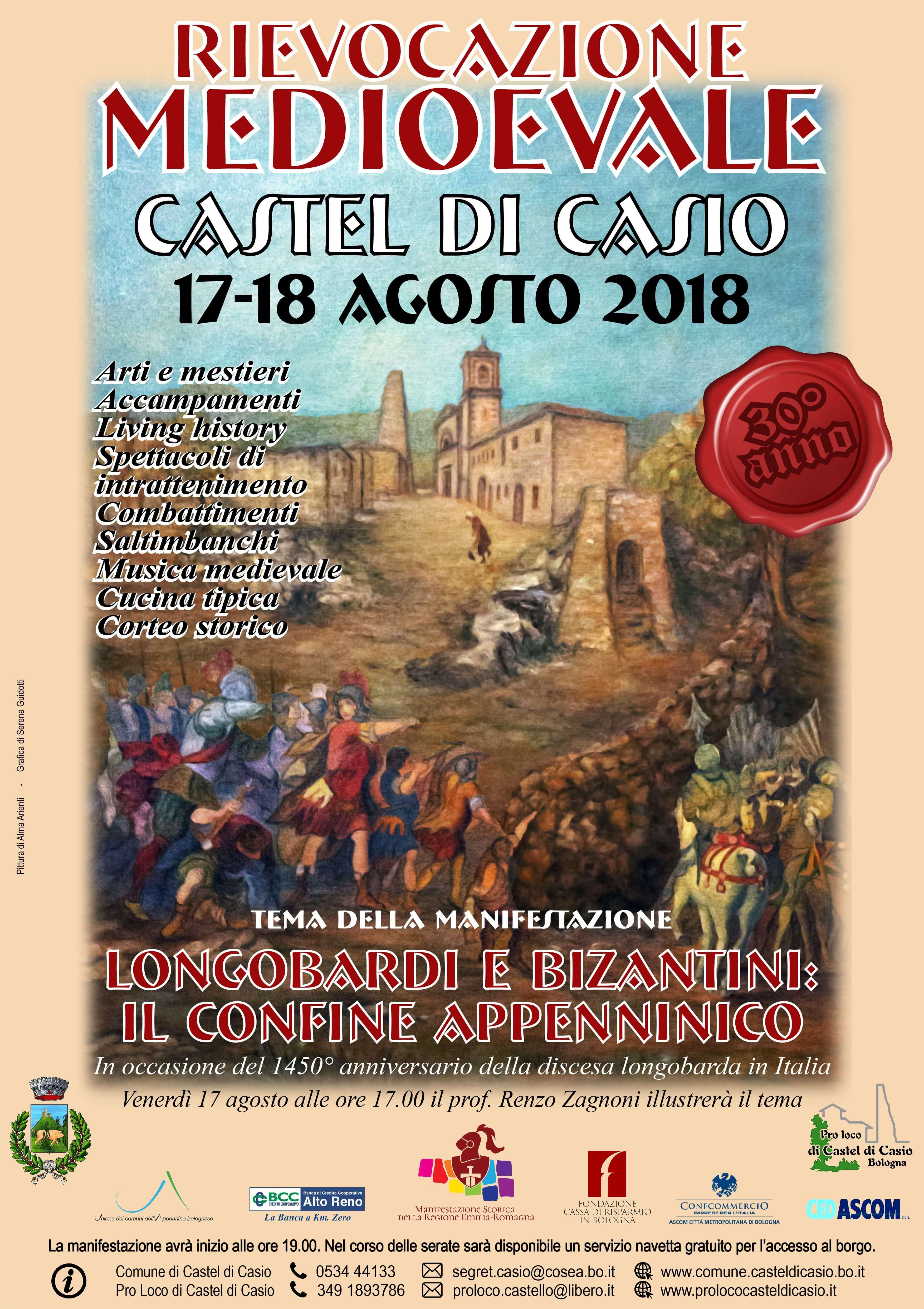 Castel di Casio (BO), una tradizionale rievocazione medioevale