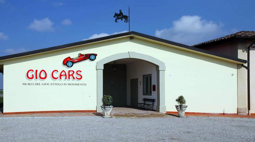 Giocars, il museo del giocattolo in movimento a Sala Bolognese