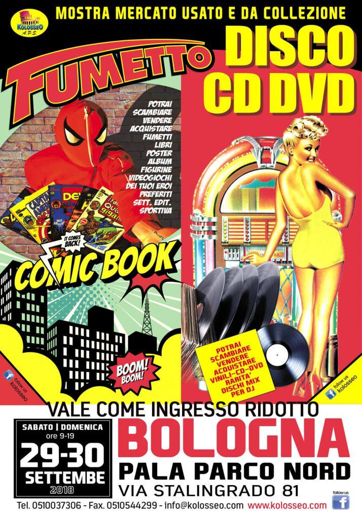 Disco e fumetto, un evento per gli amanti della musica e fumetti d'autore