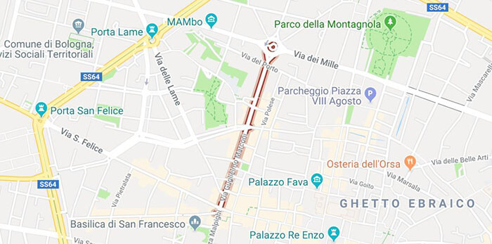 mappa di via marconi