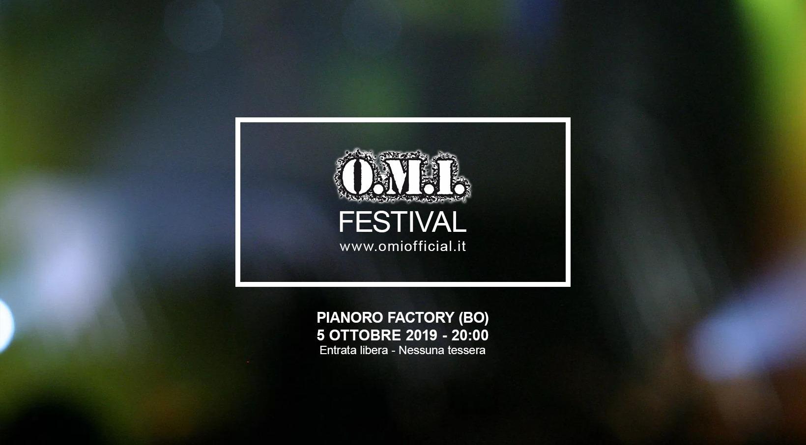 Concerto OMI Festival 2019 a Pianoro