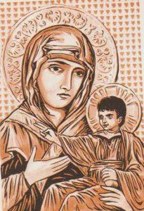 La leggenda di Tèocle e la Madonna di San Luca