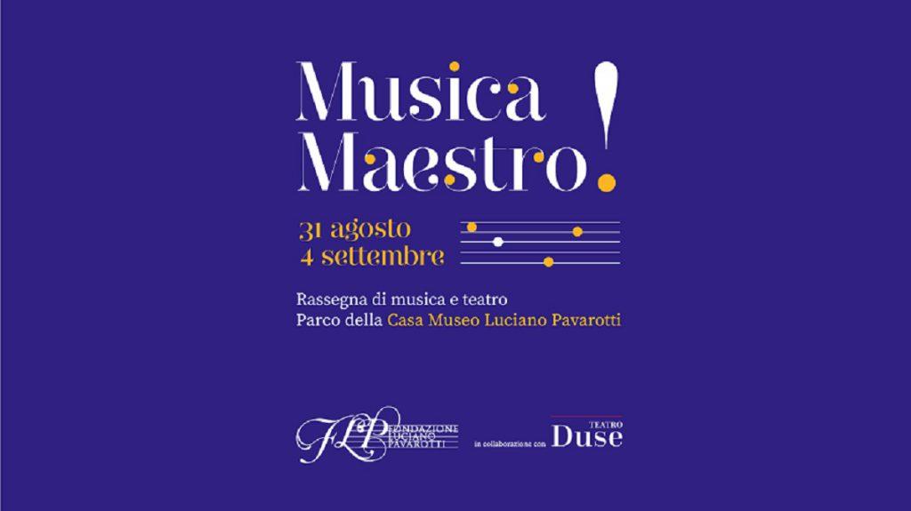 Musica Maestro a Modena: tutte le date della rassegna