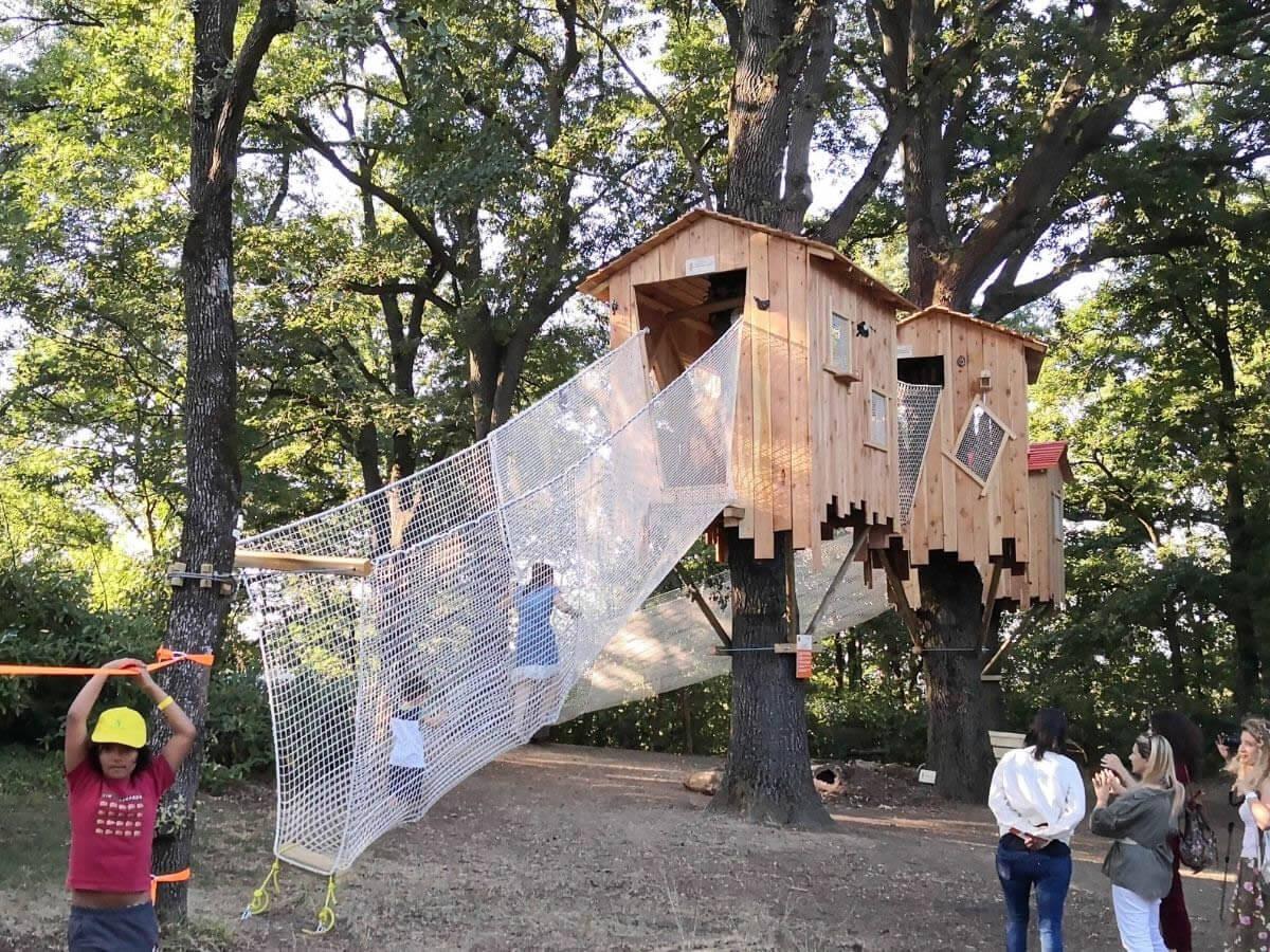 BOsco di Ca'Shin: al Parco Cavaioni i bambini giocano e imparano dalla natura
