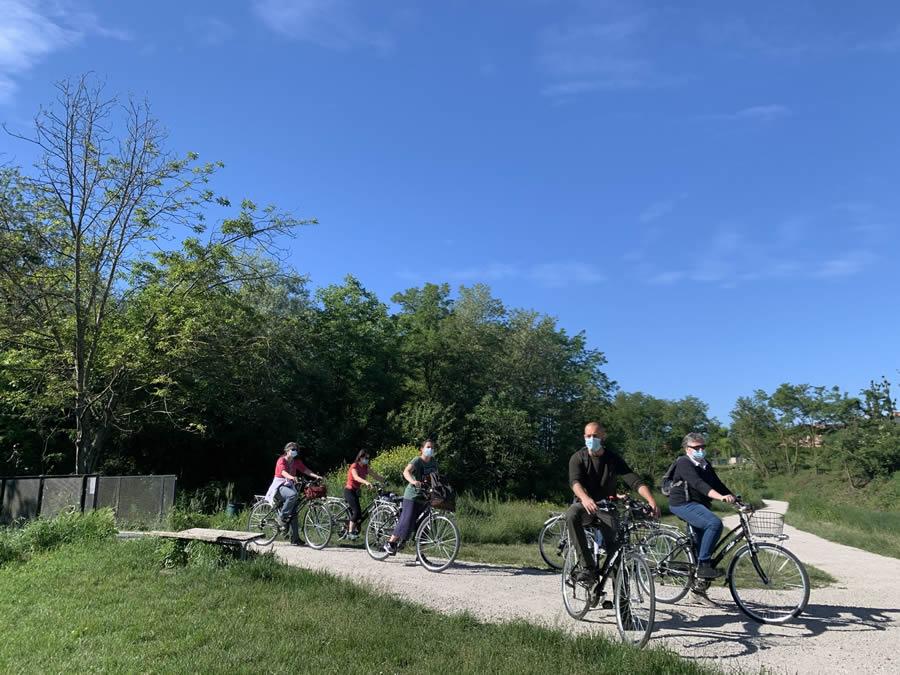 In bicicletta a Bologna, alla scoperta delle acque sotterranee