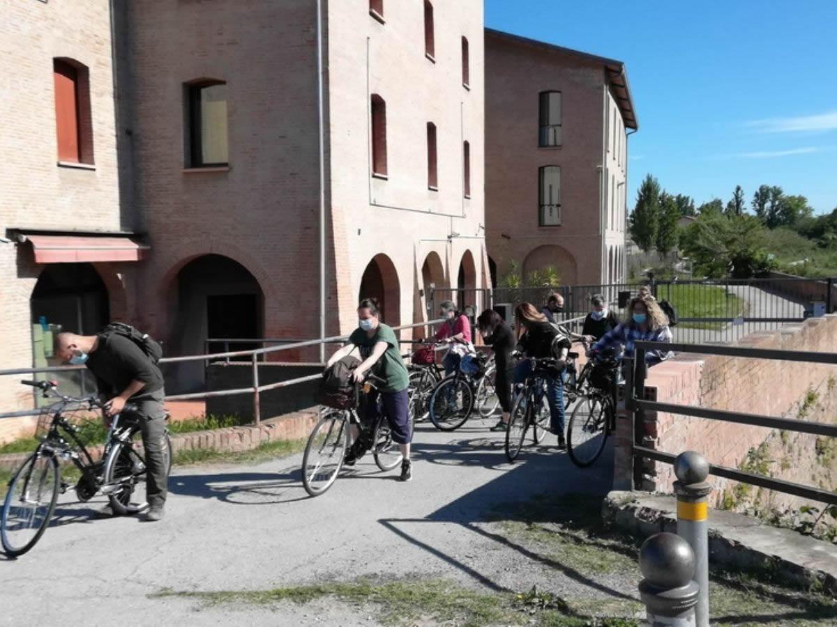 In bicicletta, alla scoperta delle acque sotterranee di Bologna